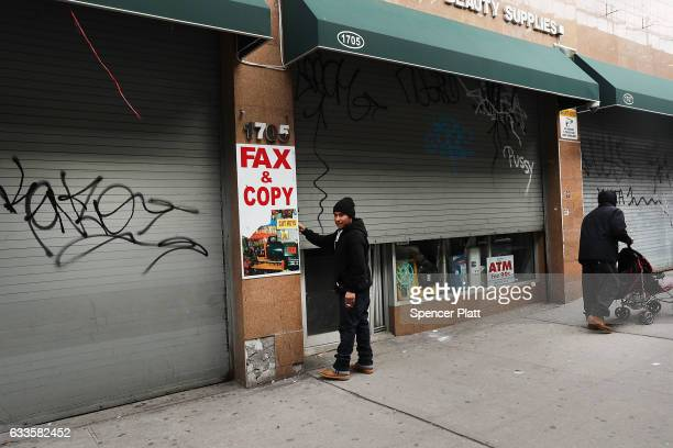 Yemeni owned business closes February 2 2017 in the Brooklyn borough of New York City Across the city Yemeni owned bodega and grocerystores will shut...