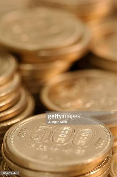 円硬貨人々