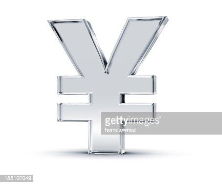 Yen Symbol : Bildbanksbilder