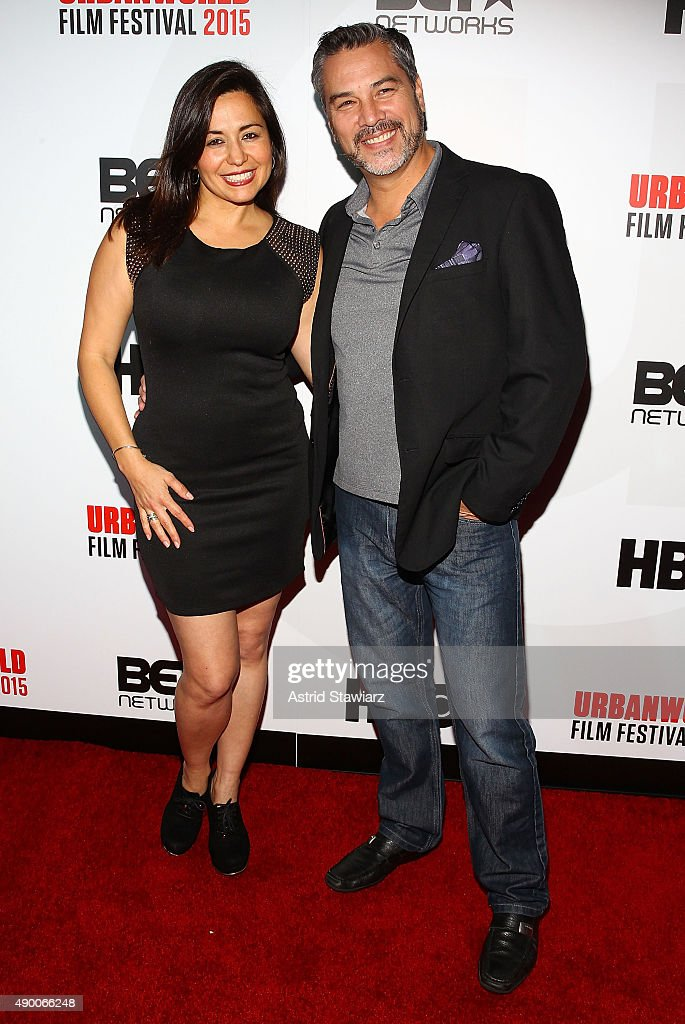 Yeniffer Behrens and Mauricio Mendoza attend the 2015 Urbanworld Film Festival at AMC Empire 25 theater on September 25, 2015 in New York City.