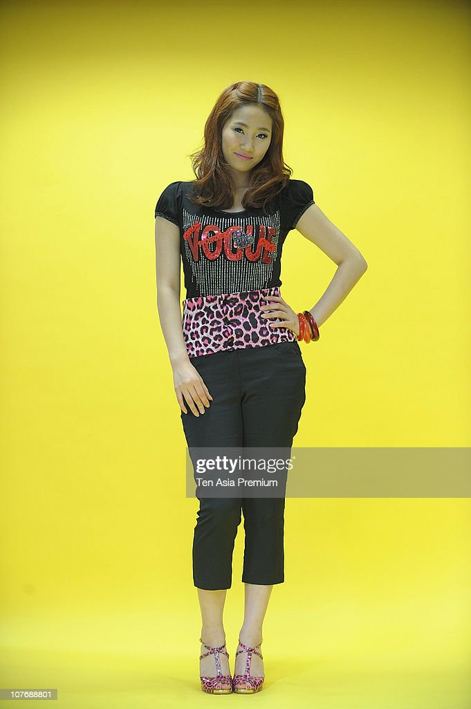 Yenny of Wonder Girls poses for photographs on November 30, 2010 in Seoul, South Korea.