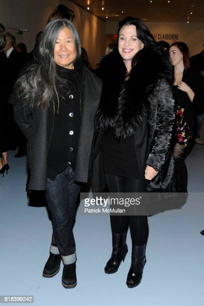 Yeohlee Teng and Adrienne Landau attend DVF Art Ortenberg Celebrate the Liz Claiborne Fashion Scholarship at DVF Studio on February 3 2010 in New...
