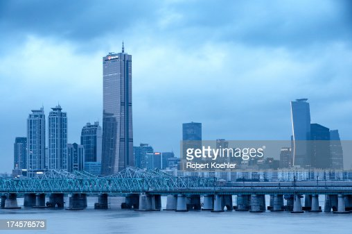 Yeouido and Hangang Railway Bridge