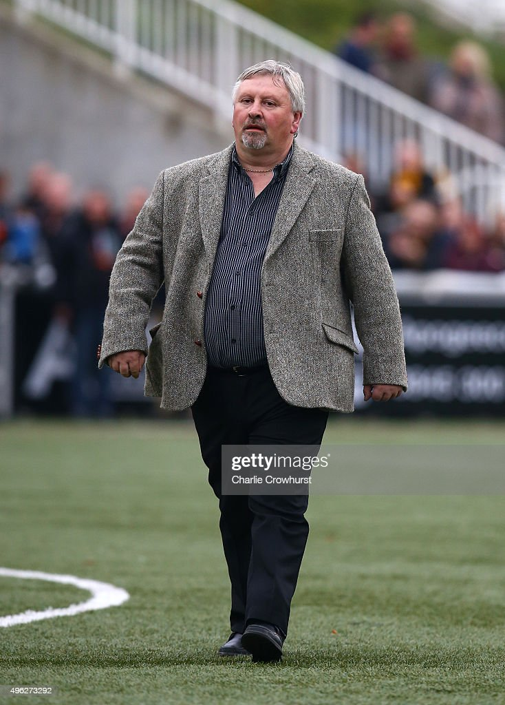 Yeovil manager Paul Sturrock during the The Emirates FA Cup First Round match between Maidstone United and Yeovil Town at Gallagher Stadium on...