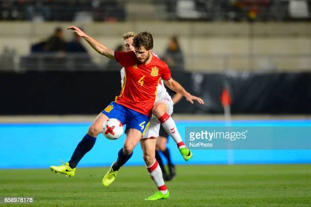 Yeray Alvarez during the friendly match of national teams U21 of Spain vs Denmark in stadium Nueva Condomina Murcia SPAIN March 23rd 2017