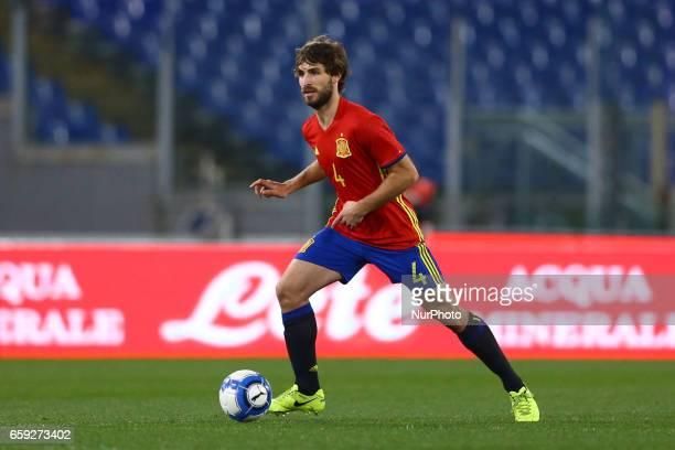 Yeray Alvarez Lopez of Spain at Olimpico Stadium in Rome Italy on March 27 2017