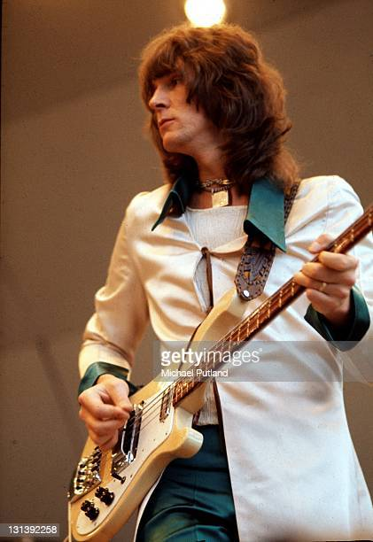 Yes perform at Crystal Palace garden party Crystal Palace London 2nd September 1972 Chris Squire