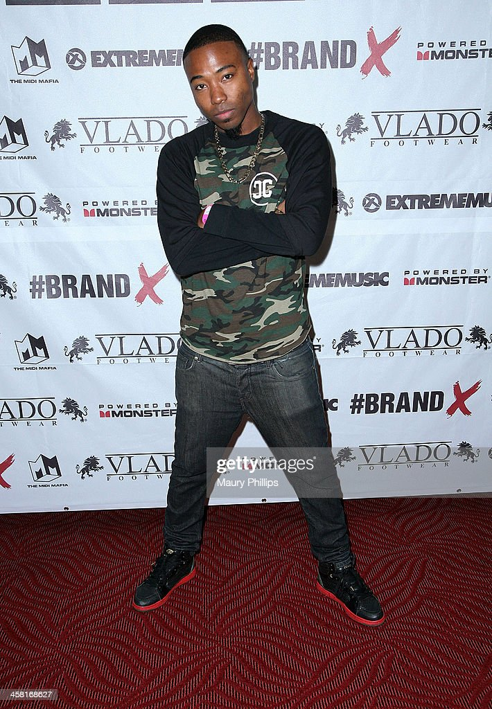 Yesi Ortiz attends Brand X Live with Eric Bellinger at El Rey Theatre on December 19, 2013 in Los Angeles, California.