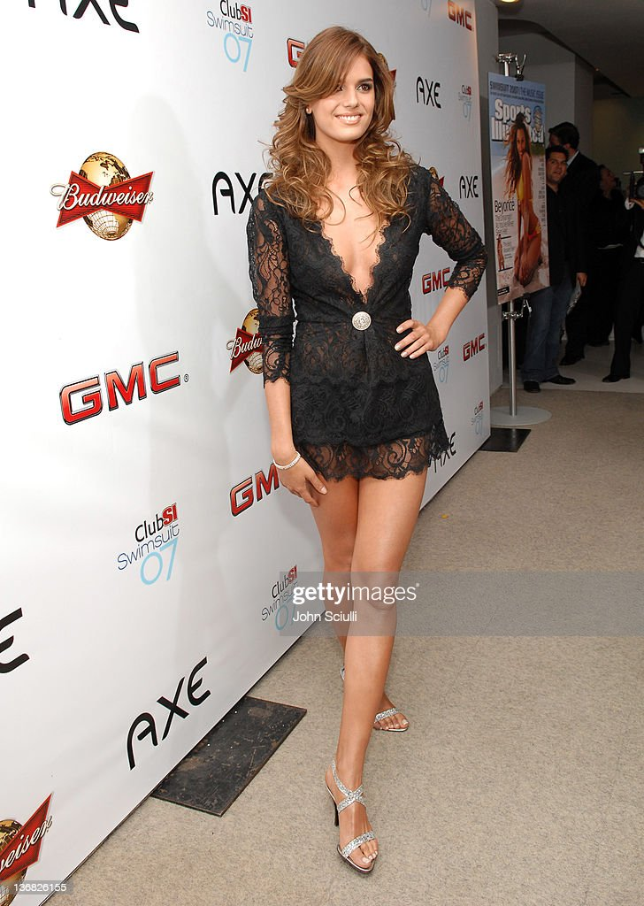 Yesica Toscanini during 2007 Sports Illustrated Swimsuit Issue - Red Carpet at Pacific Design Center in Los Angeles, California, United States.