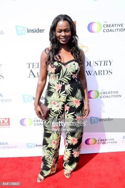 Yetide Badaki at the Television Industry Advocacy Awards at TAO Hollywood on September 16 2017 in Los Angeles California