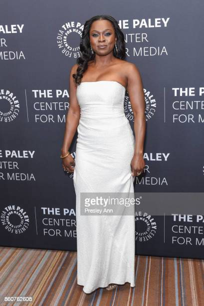 Yetide Badaki attends Paley Honors in Hollywood A Gala Celebrating Women in Television at Regent Beverly Wilshire Hotel on October 12 2017 in Beverly...