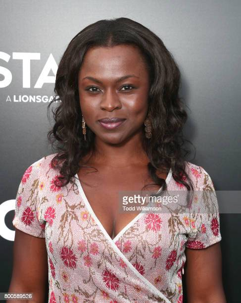 Yetide Badaki attends STARZ 'Power' Season 4 LA Screening And Party at The London West Hollywood on June 23 2017 in West Hollywood California