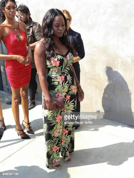 Yetide Badaki is seen on September 16 2017 in Los Angeles California