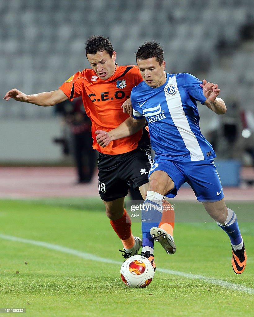CS Pandurii Targu Jiu v FC Dnipro Dnipropetrovsk UEFA Europa