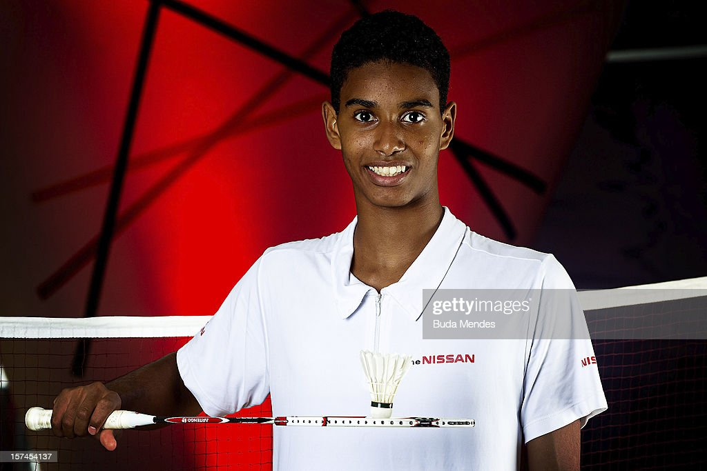 Ygor Coelho poses for a photo during the presentation of Team Nissan for Rio de Janeiro Olympics Games 2016 at Cine Lagoon on November 27, 2012 in Rio de Janeiro, Brazil.