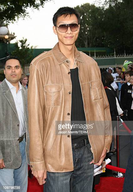 Yi Jianlian during 'Pirates of the Caribbean At World's End' World Premiere Arrivals at Disneyland in Anaheim California United States