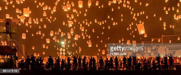 Yi Peng Sky Lantern Festival