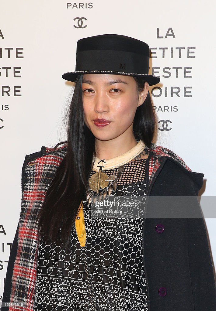 Yi Zhou attends the'La Petite Veste Noire' Book Launch Hosted By Karl Lagerfeld & Carine Roitfeld at Grand Palais on November 8, 2012 in Paris, France.