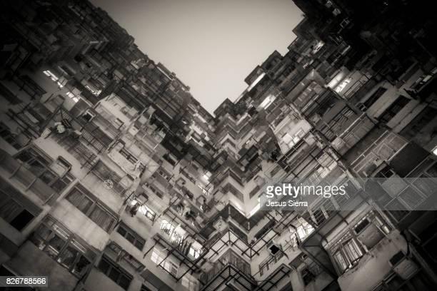 Yick Cheong Buildings in Quarry Bay, Hong Kong. China.