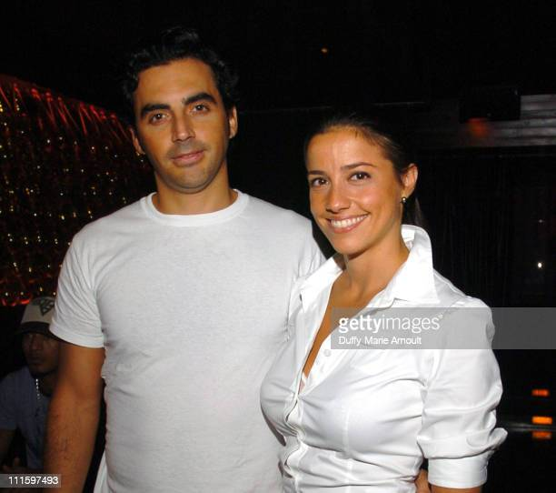 Yigal Azrouel and Shoshanna LonsteinGross during Olympus Fashion Week Spring 2006 Yigal Azrouel Spring After Party at Double Seven in New York City...
