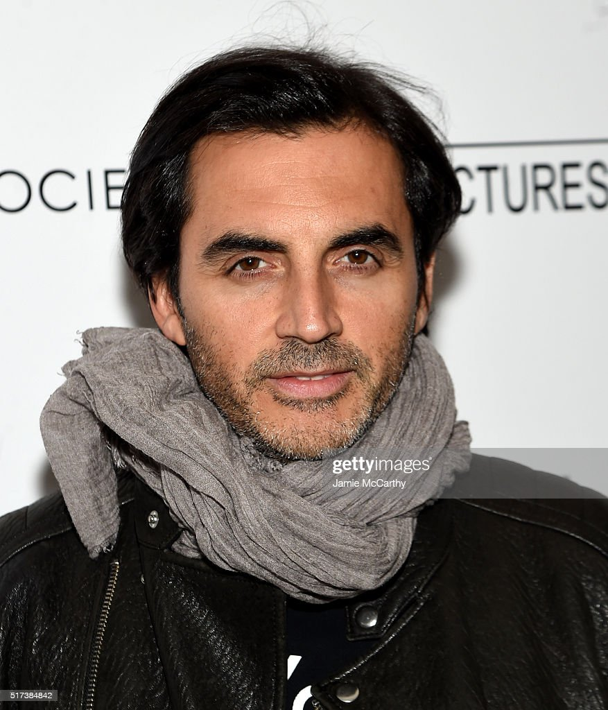 Yigal Azrouel attends The Cinema Society With Hestia StGermain Host a Screening of Sony Pictures Classics' 'I Saw the Light' at Metrograph on March...