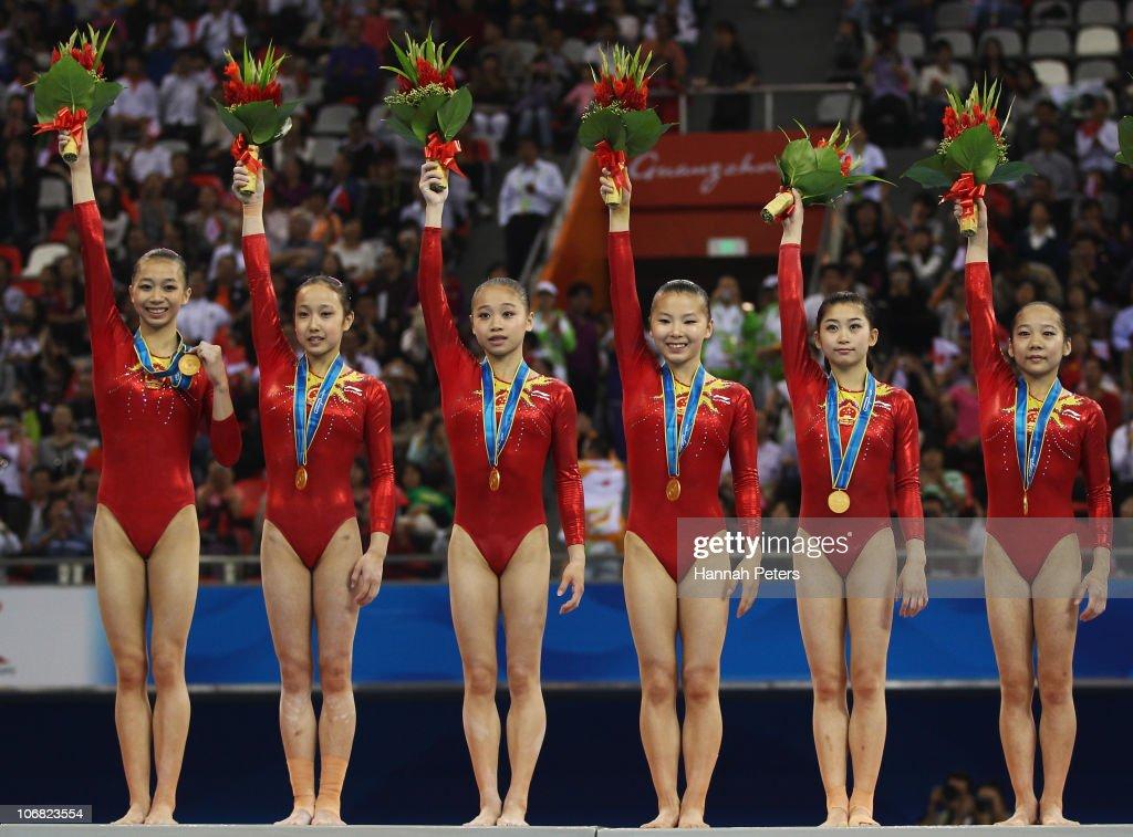 16th Asian Games - Day 2: Artistic Gymnastics
