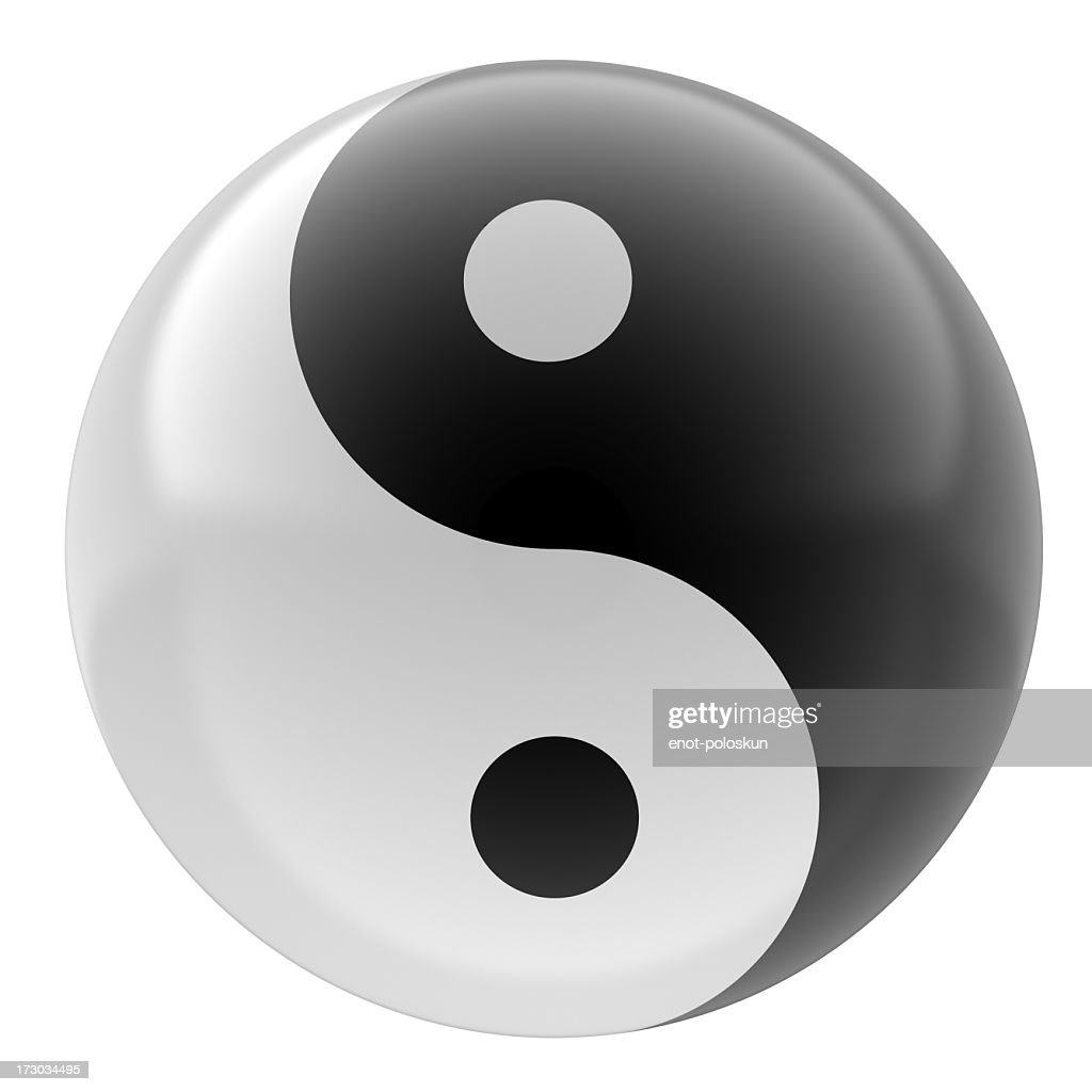 yin yang stock photo getty images. Black Bedroom Furniture Sets. Home Design Ideas