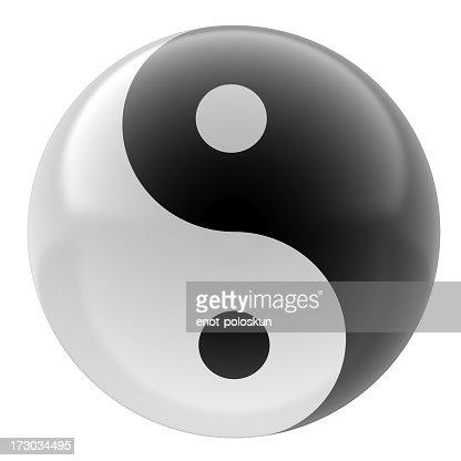 yin yang stock fotos und bilder getty images. Black Bedroom Furniture Sets. Home Design Ideas