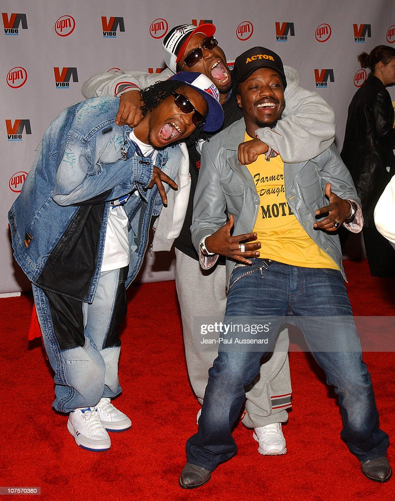 Ying Yang Twins and Anthony Hamilton during 2003 VIBE Awards Arrivals at Civic Auditorium in Santa Monica California United States