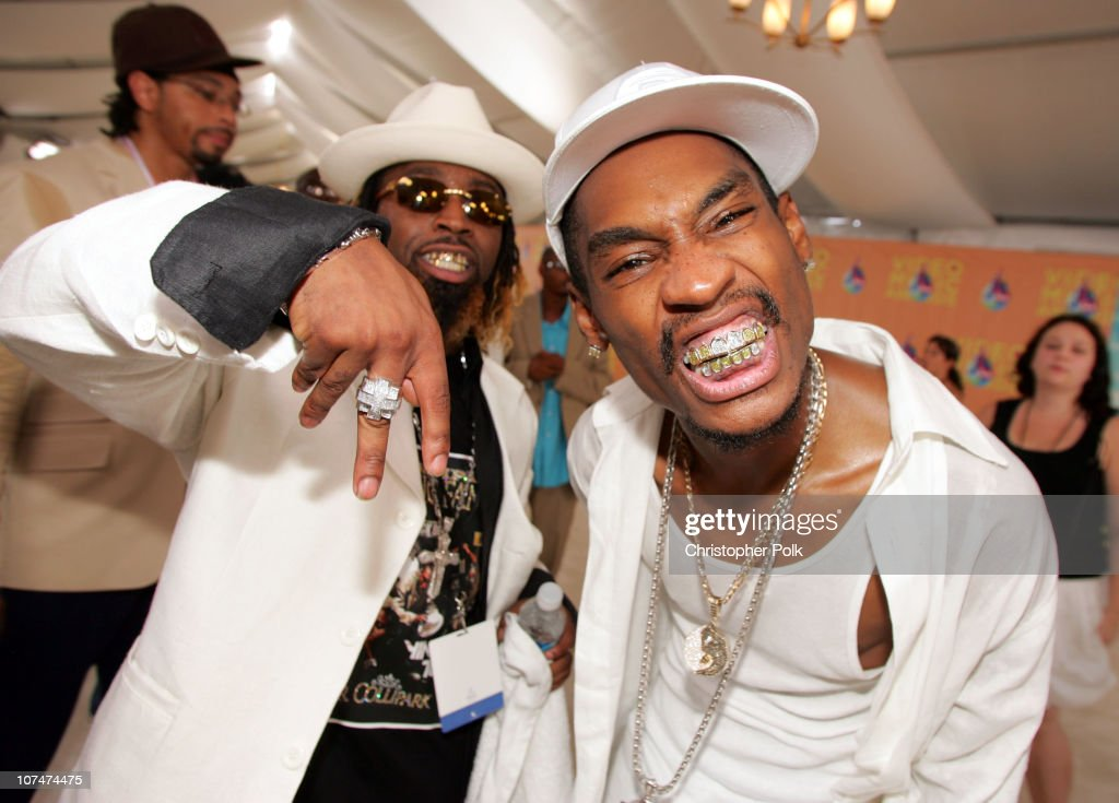Ying Yang Twins during 2005 MTV Video Music Awards White Carpet at American Airlines Arena in Miami Florida United States