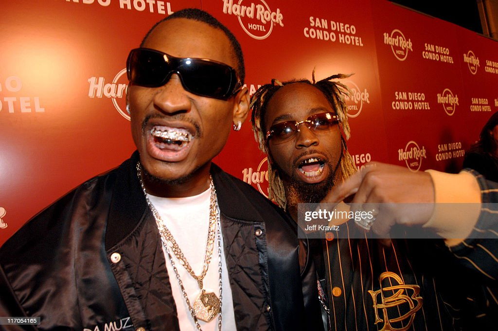 Ying Yang Twins during Hard Rock CondoHotel San Diego Launch Arrivals at 615 Broadway in San Diego California United States
