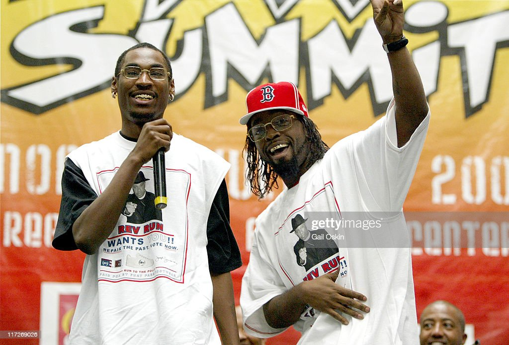Ying Yang Twins during Playstation 2 HipHop Summit July 2004 in Boston Massachusetts United States