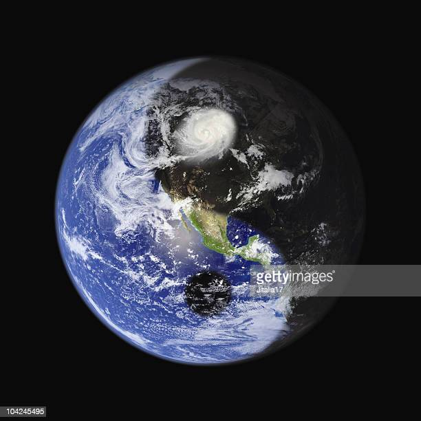 Yin-Yang Earth Symbol - Concept for Peace, Balance and Sustainability