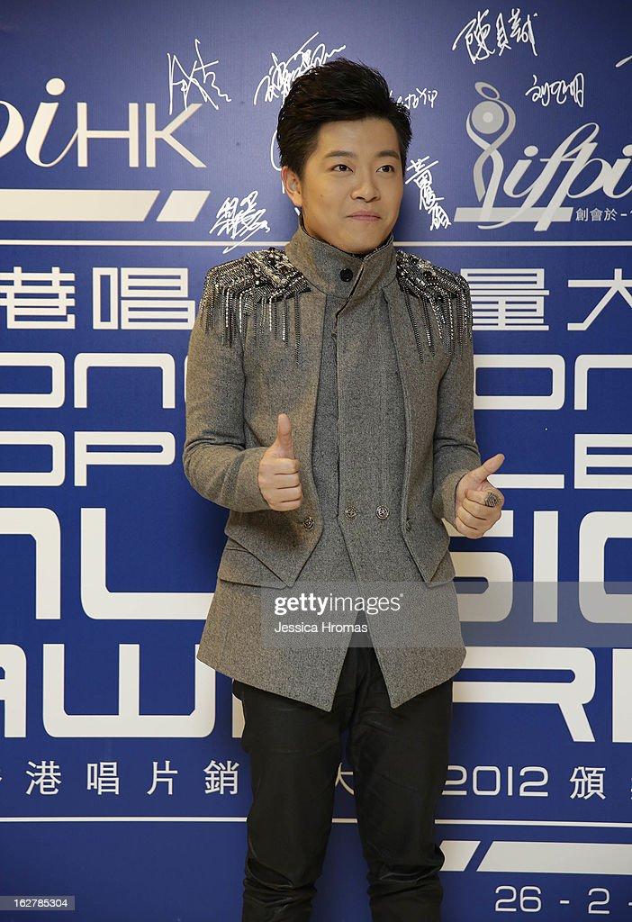 Yip Wai Ting aka YT at the 2013 IFPI Hong Kong Top Sales Music Awards at Star Hall on February 26, 2013 in Hong Kong, Hong Kong.
