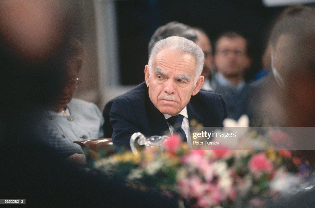 Yitzhak Shamir at Peace Conference