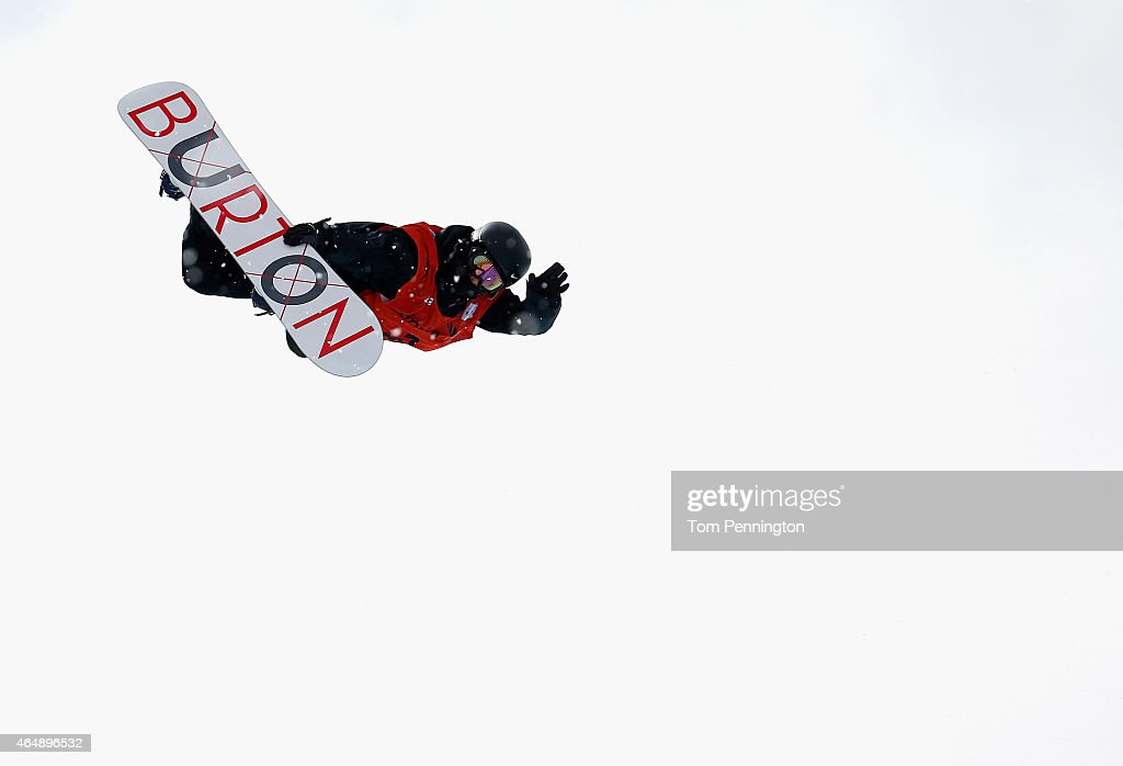 <a gi-track='captionPersonalityLinkClicked' href=/galleries/search?phrase=Yiwei+Zhang&family=editorial&specificpeople=8090733 ng-click='$event.stopPropagation()'>Yiwei Zhang</a> of China competes during the FIS Snowboard World Cup 2015 Men's Snowboard Halfpipe Final during the U.S. Grand Prix at Park City Mountain on March 1, 2015 in Park City, Utah.