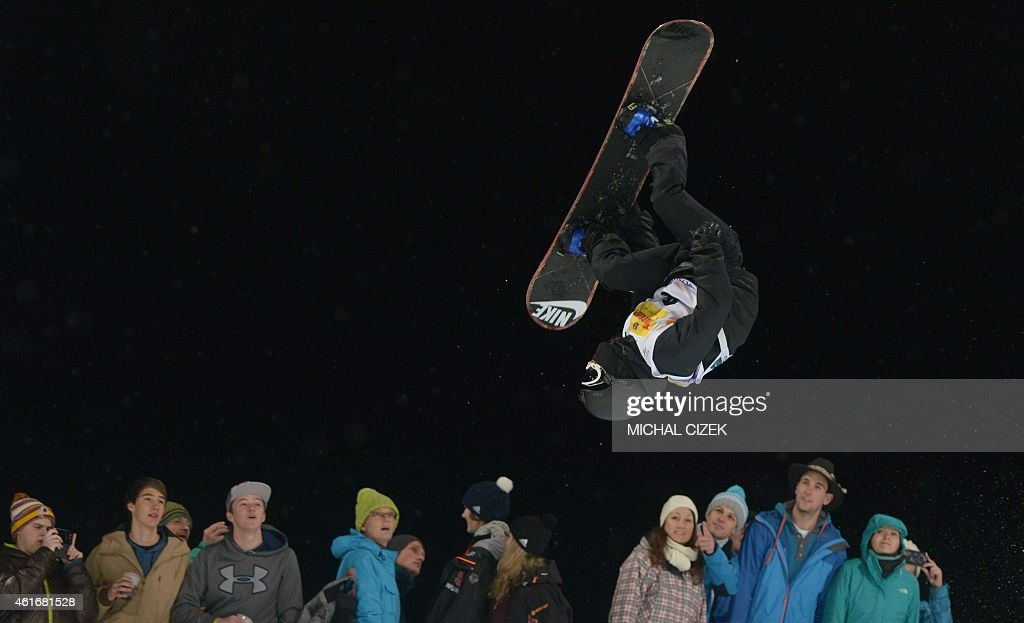 <a gi-track='captionPersonalityLinkClicked' href=/galleries/search?phrase=Yiwei+Zhang&family=editorial&specificpeople=8090733 ng-click='$event.stopPropagation()'>Yiwei Zhang</a> of China competes during the Men's Snowboard Halfpipe competition of the FIS Freestyle and Snowboarding World Ski Championships 2015 in Kreischberg, Austria on January 17, 2015. Australia's Scotty James won gold ahead of the <a gi-track='captionPersonalityLinkClicked' href=/galleries/search?phrase=Yiwei+Zhang&family=editorial&specificpeople=8090733 ng-click='$event.stopPropagation()'>Yiwei Zhang</a> of China and Tim-Kevin Ravnjak of Slovenia.