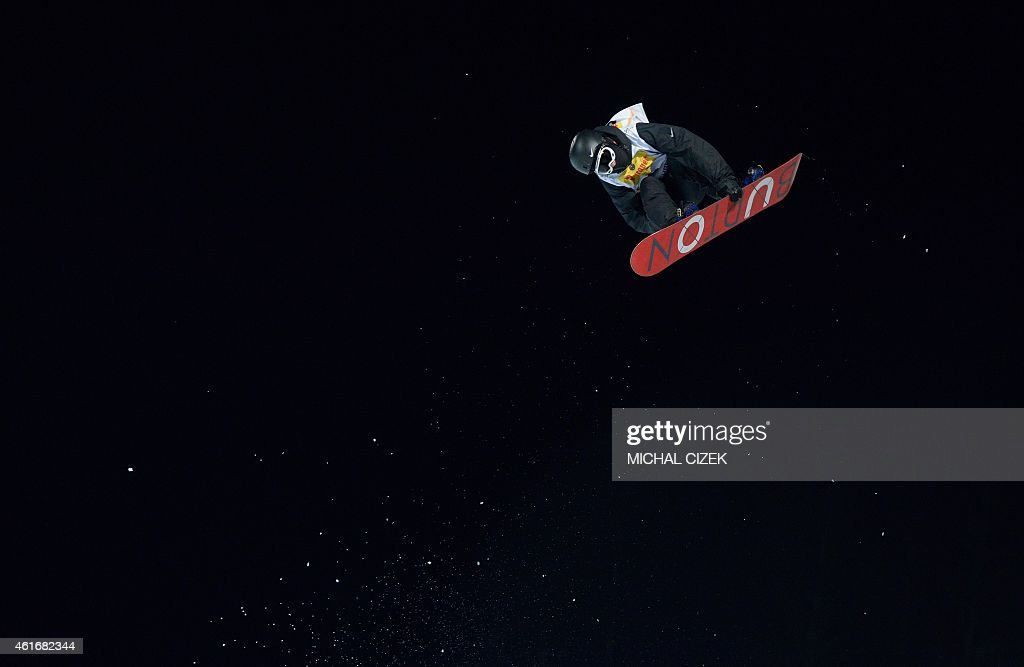 <a gi-track='captionPersonalityLinkClicked' href=/galleries/search?phrase=Yiwei+Zhang&family=editorial&specificpeople=8090733 ng-click='$event.stopPropagation()'>Yiwei Zhang</a> of China competes during the Men's Snowboard Halfpipe competition of the FIS Freestyle and Snowboarding World Ski Championships 2015 in Kreischberg, Austria on January 17, 2015. Australia's Scotty James won gold ahead of <a gi-track='captionPersonalityLinkClicked' href=/galleries/search?phrase=Yiwei+Zhang&family=editorial&specificpeople=8090733 ng-click='$event.stopPropagation()'>Yiwei Zhang</a> of China and Tim-Kevin Ravnjak of Slovenia.