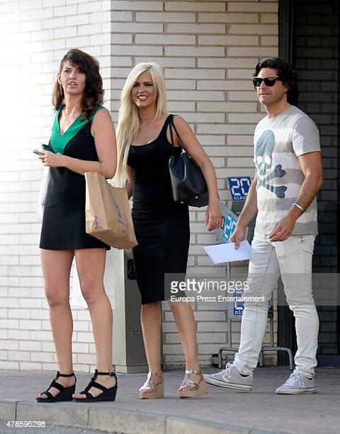 Ylenia Padilla and Tono Sanchis are seen on June 25 2015 in Madrid Spain