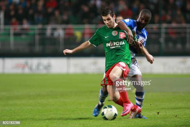 Yoann COURT / Diallo GUIDILLEYE Troyes /Sedan 29e journee Ligue 2