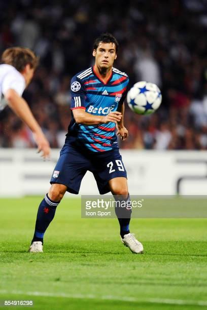 Yoann GOURCUFF Lyon / Schalke 04 1er journee de Ligue des Champions