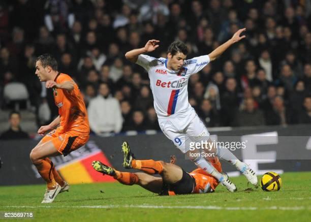 Yoann GOURCUFF Lyon / Lorient 20eme journee de Ligue 1