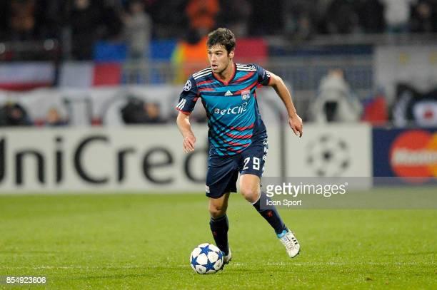 Yoann GOURCUFF Lyon / Real Madrid 1/8 Finale aller Champions League