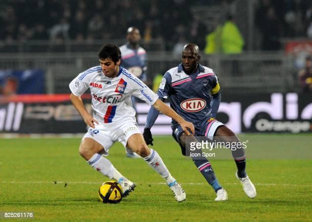 Yoann GOURCUFF / Alou DIARRA Lyon / Bordeaux 22e journee de Ligue 1