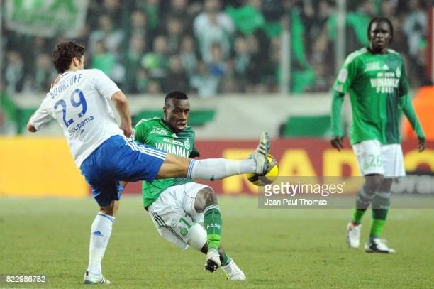 Yoann GOURCUFF Blaise MATUIDI û Saint Etienne / Lyon 23 eme journee de Ligue 1 ûSaint Etienneû