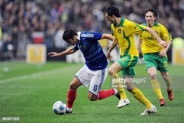 Yoann GOURCUFF / Deividas SEMBERAS France / Lituanie Eliminatoire de la Coupe du Monde 2010