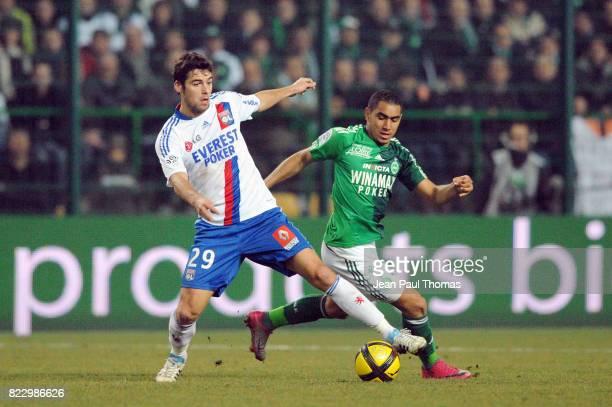 Yoann GOURCUFF Dimitri PAYET û Saint Etienne / Lyon 23 eme journee de Ligue 1 ûSaint Etienneû