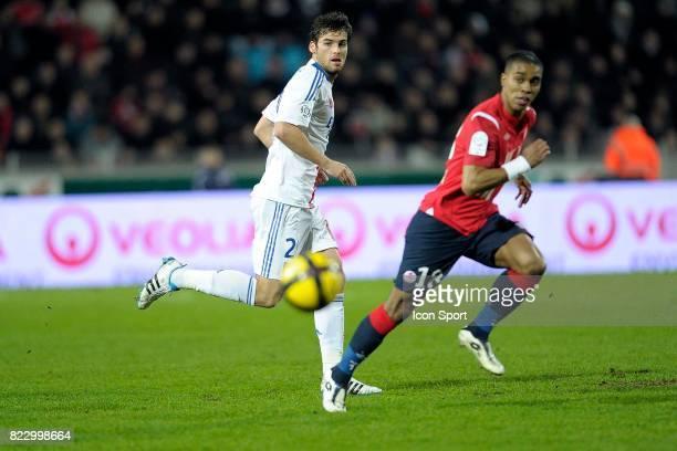 Yoann GOURCUFF / Franck BERIA Lille / Lyon 25e journee de Ligue 1