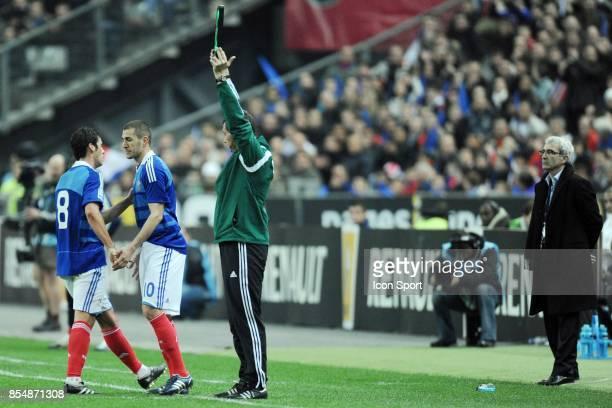 Yoann GOURCUFF / Karim BENZEMA France / Lituanie Eliminatoire de la Coupe du Monde 2010