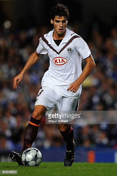 Yoann Gourcuff of Bordeaux in action during the UEFA Champions League Group A match between Chelsea and Bordeaux at Stamford Bridge on September 16...